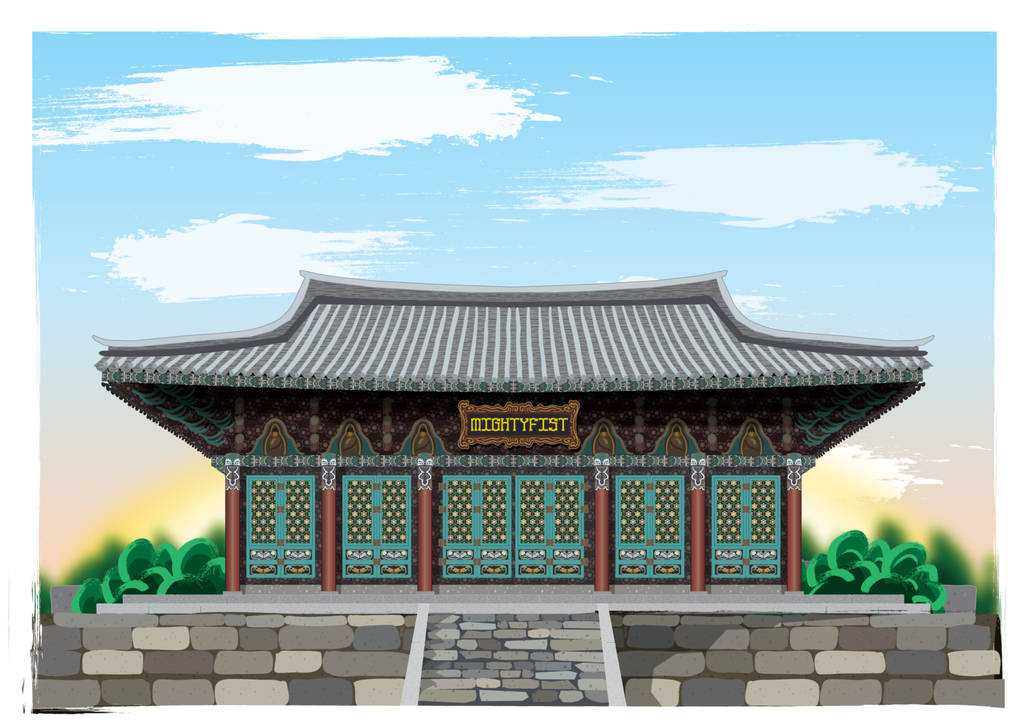 Korean Temple by GabrielChoquette