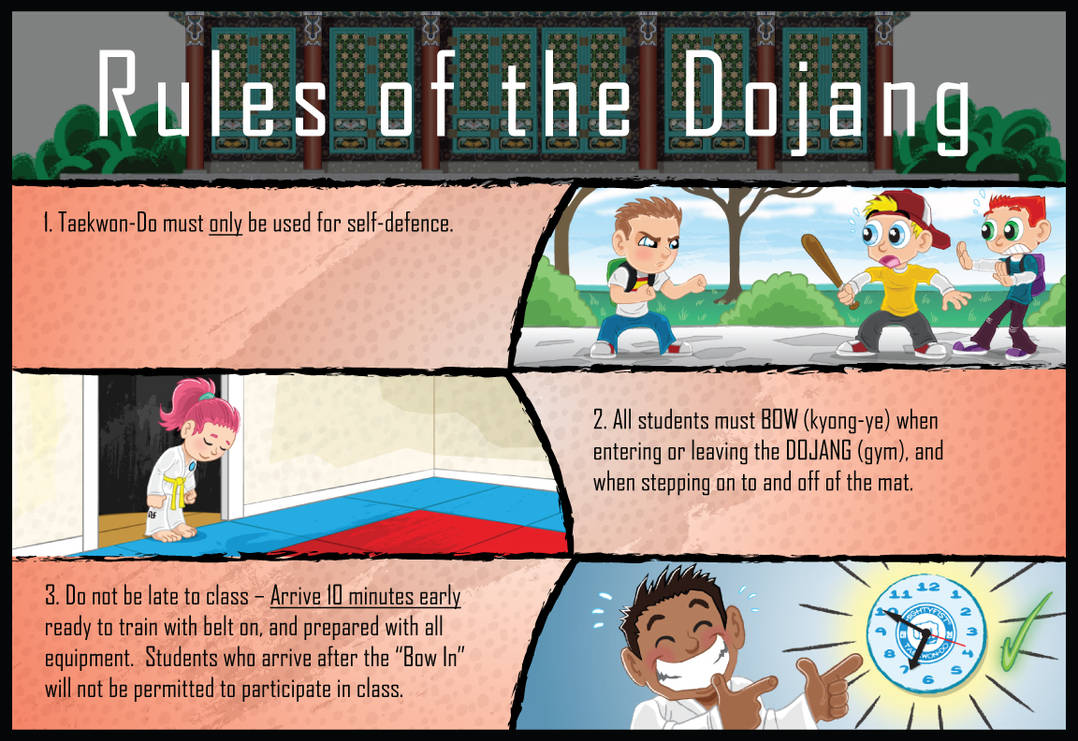 Rules of the Dojang by GabrielChoquette