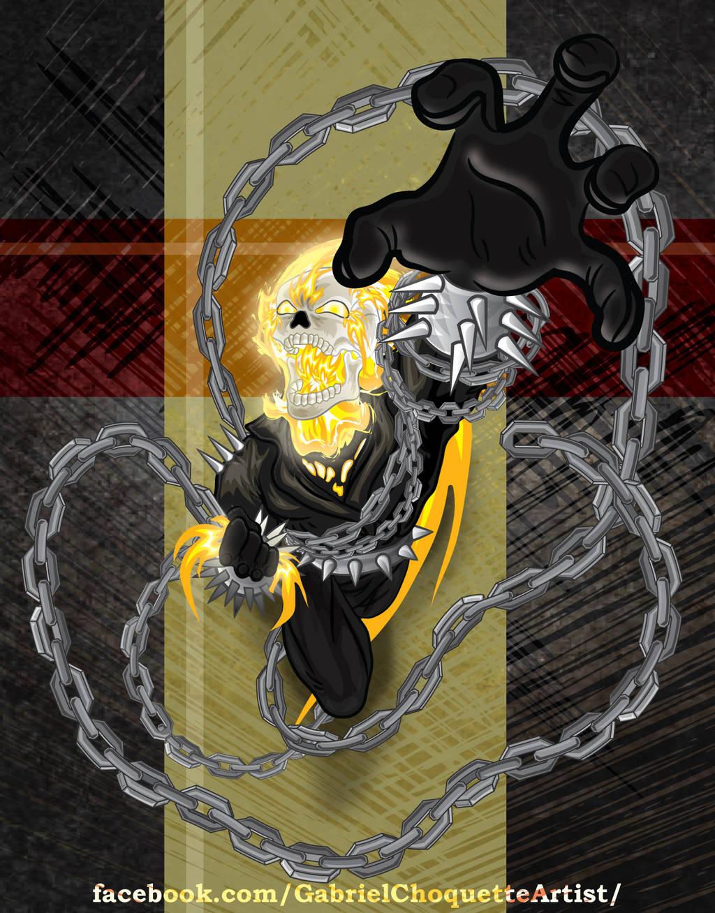 Ghost Rider by GabrielChoquette