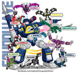 G1 Soundwave and minions