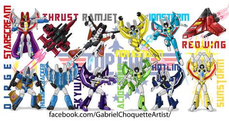 G1 Transformers Seekers