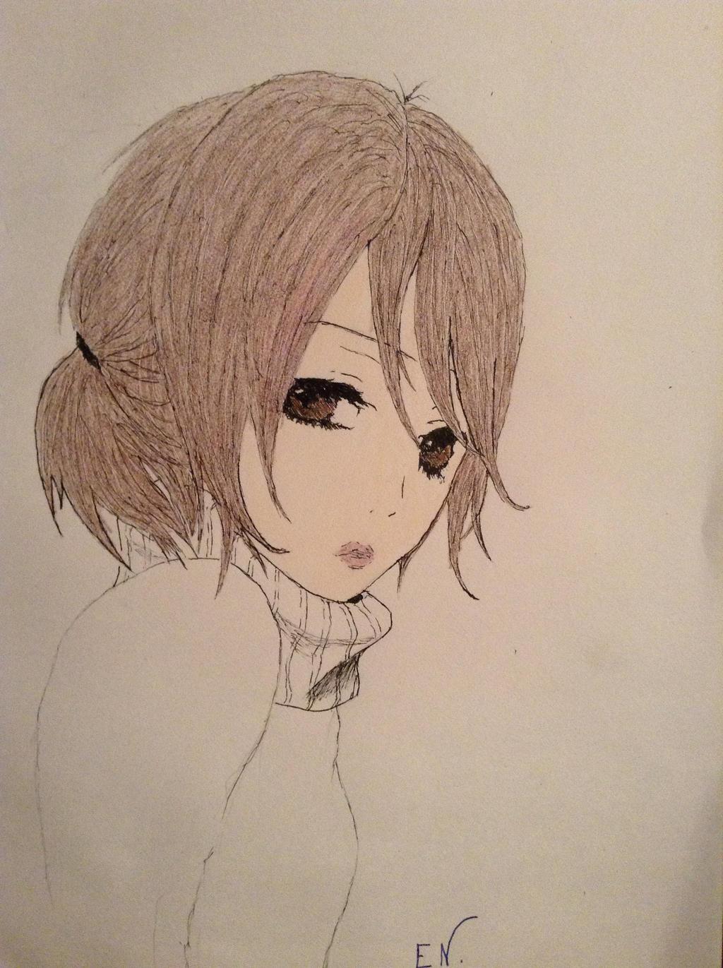 Tachibana-san (colored) by droN-chan