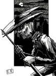 The Scarecrow (Inktober)