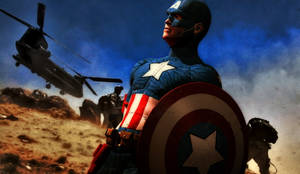 Captain America by PainthatImausedto