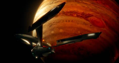 Enterprise at Jupiter
