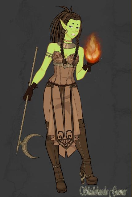 Orc warrior by Mewsic-Haznt-dyd-yet