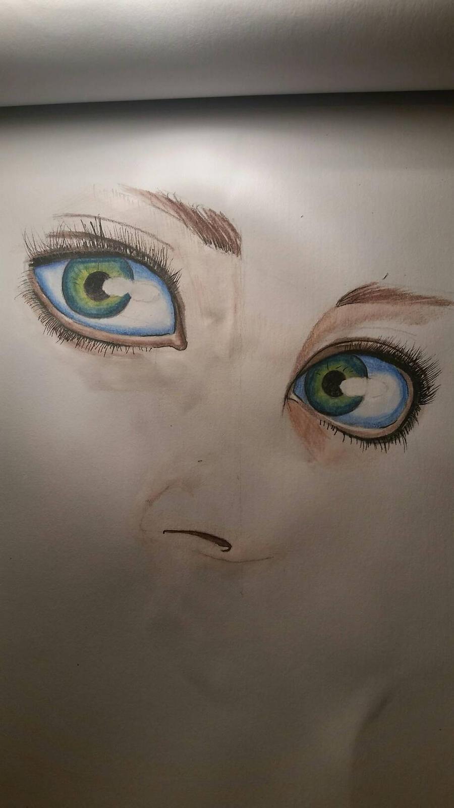 green eyes by desenez88