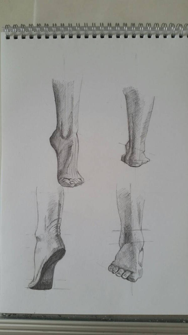 Feet study by desenez88