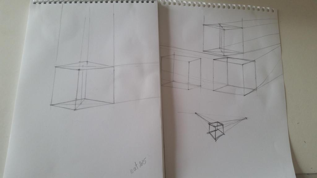 Cube Day 1 by desenez88