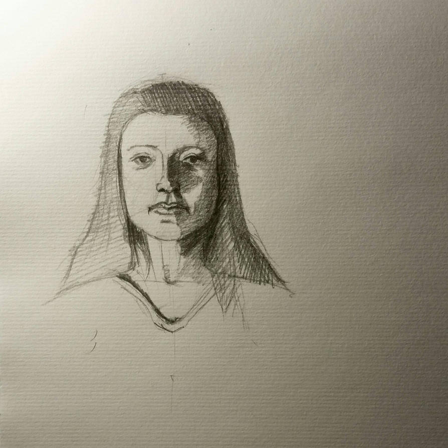 Face Sketch by desenez88