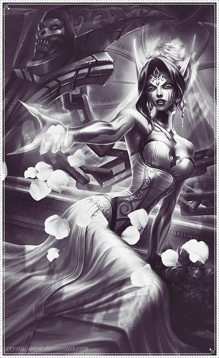 Ghost Bride Morgana by CrystaliaNya on DeviantArt
