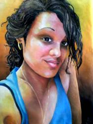 Self-Portrait 3 by cuberoarts