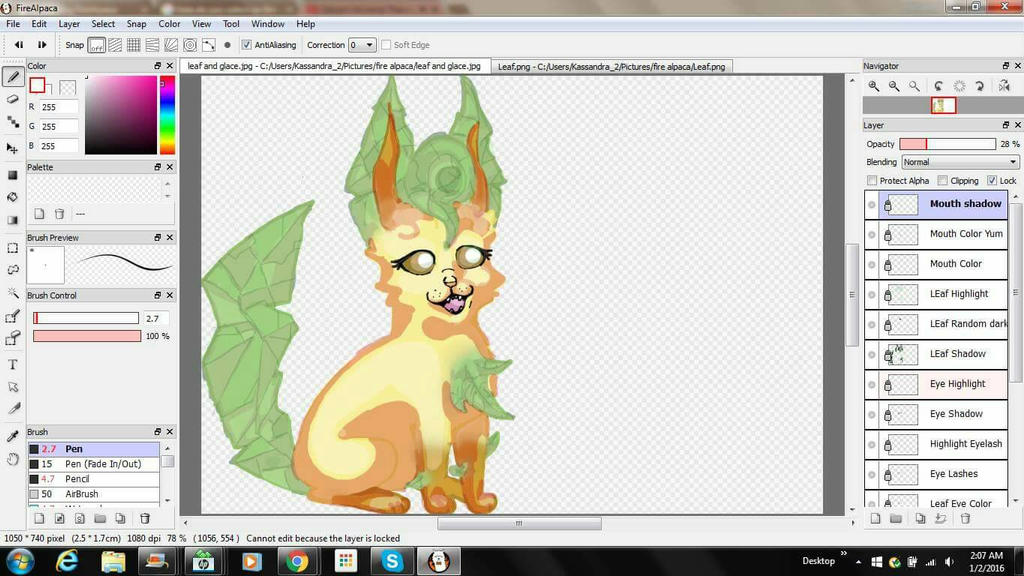 WIP Leafeon and Glaceon  by Random-is-ME