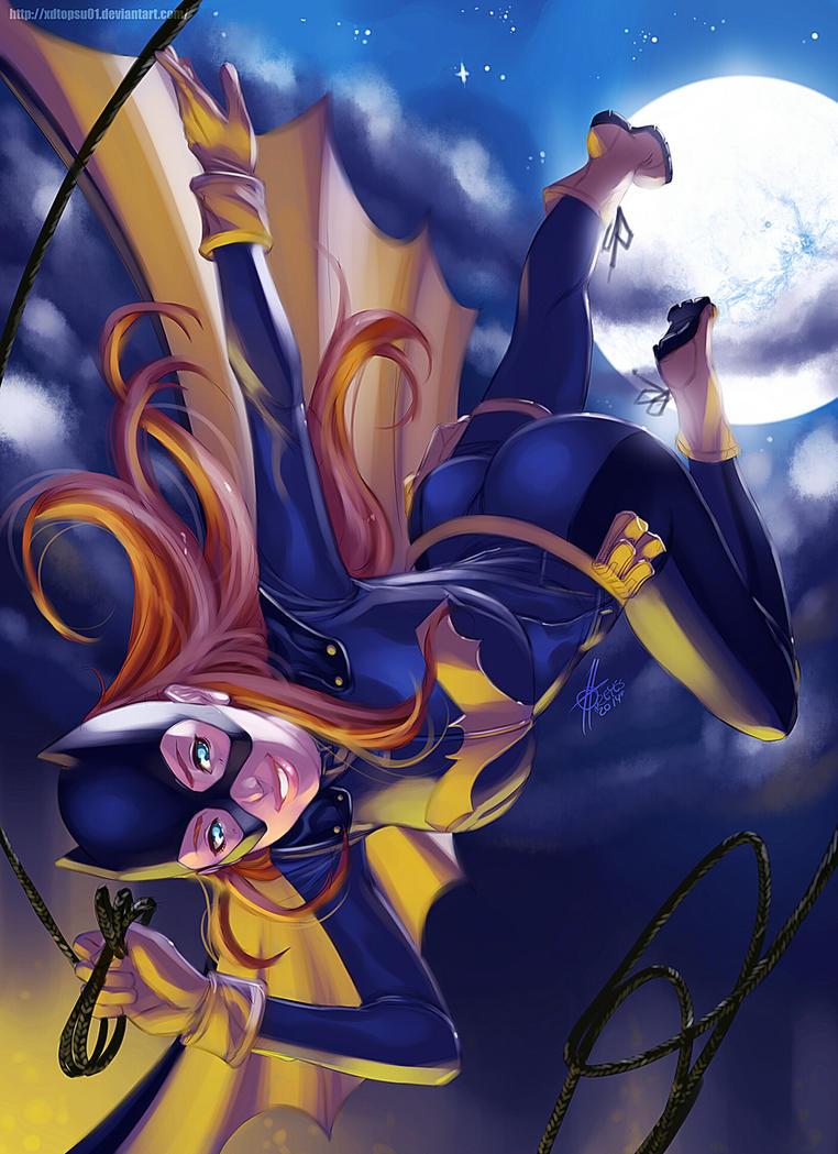 نتیجه تصویری برای batgirl fanart