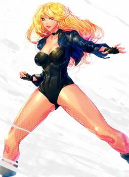 Black Canary-Fanart :D