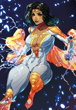 Thunder Woman-comm