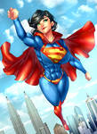 Superwoman-comm by xdtopsu01