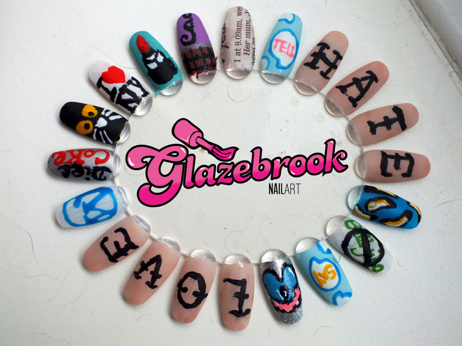Nail Art Wheel with logo. by Kimmmy on DeviantArt