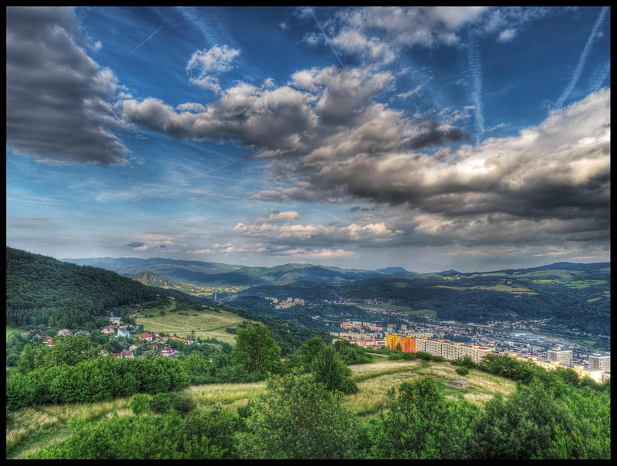 View from Erben's Tower II by Pildik