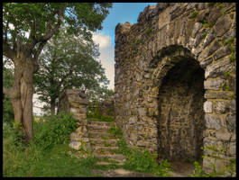 Castle ruins of Blansko by Pildik