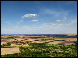 View from Hazmburg by Pildik