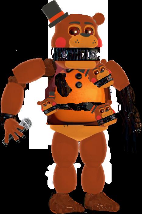 Old Toy Freddy : Old nightmare toy freddy by nomok teh great on deviantart