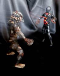Tron vs Predator: Disc Wars In Action