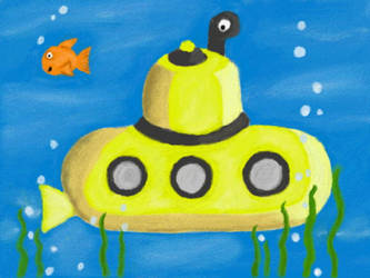 Yellow Submarine by VATalbot