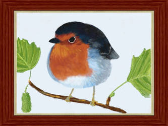 An English Robin by VATalbot