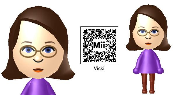 Mii and my QR code by VATalbot