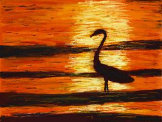 Survivor Sunset by VATalbot