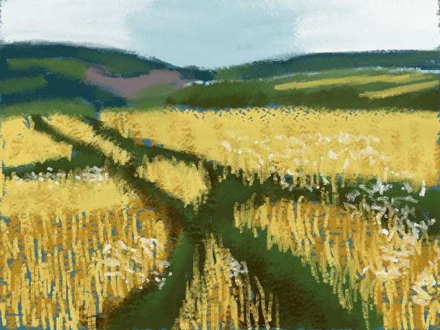 Barley field by VATalbot