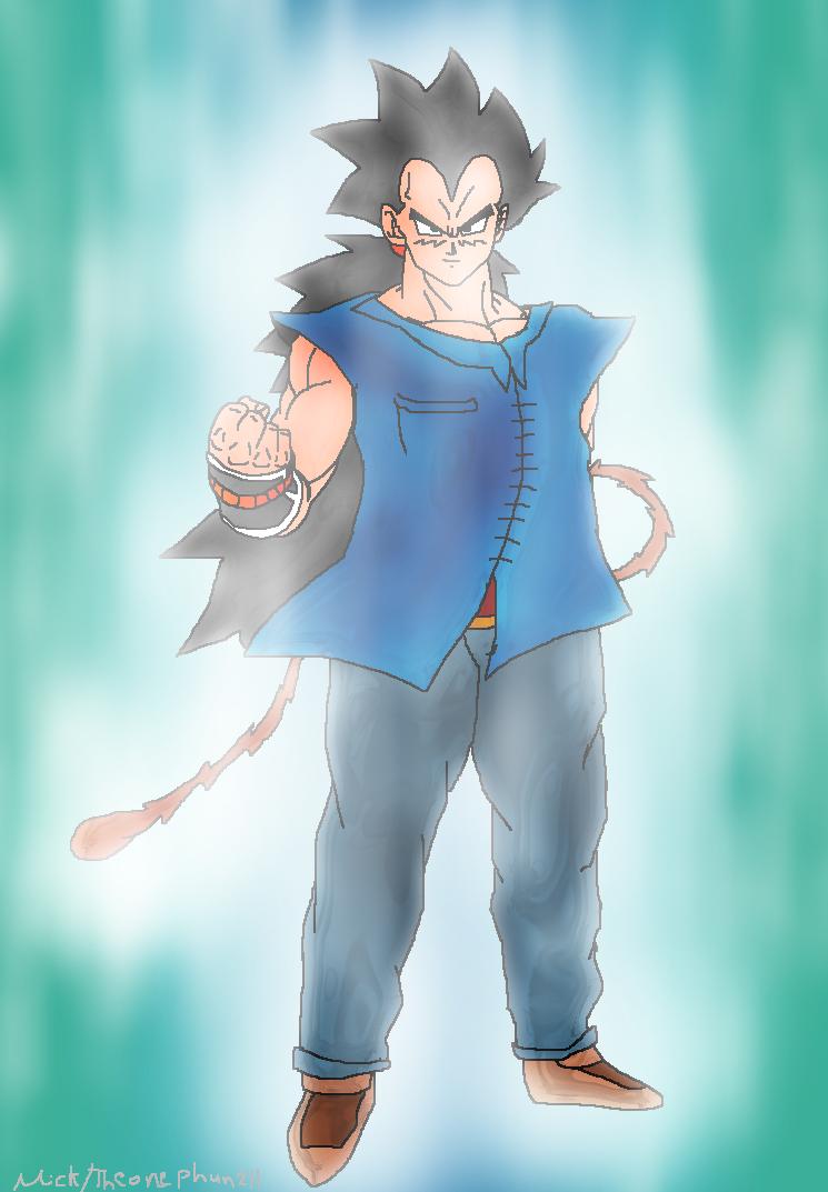 What If Dragon Ball Super Raditz By Theonephun211 On Deviantart