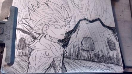 Dragon Ball Super: SSJ2 Future Trunks by TheOnePhun211