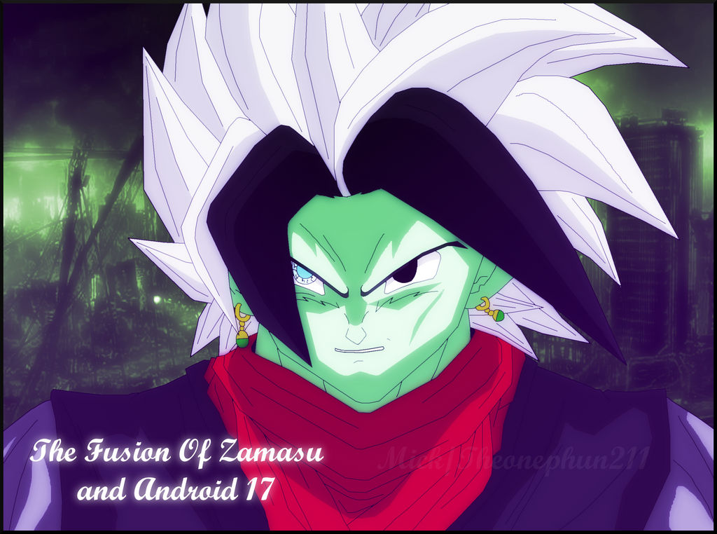 c7b7d861e24 Gokis Black: Fusion of Fused Zamasu and Android 17 by TheOnePhun211 ...
