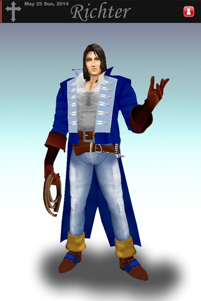Richter Belmont for Brawl (Available Now!) by kironohasama