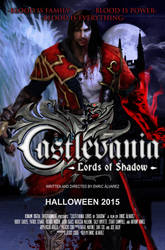 Castlevania Lords of Shadow Movie Poster