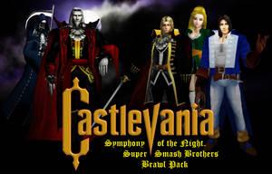 Castlevania Symphony of the Night Brawl Pack