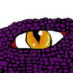 purple dragon by ninjaGHOSTcat