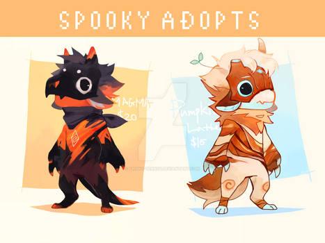 Spooky Adopt 12/Set price/CLOSED