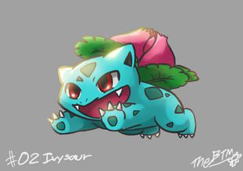 #002 Ivysaur by The-BlackToteM