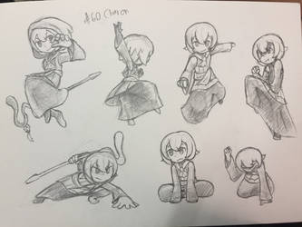 Day 60 : Charon (OC Request) by The-BlackToteM