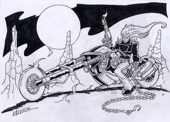 Ghost Rider by sergicr