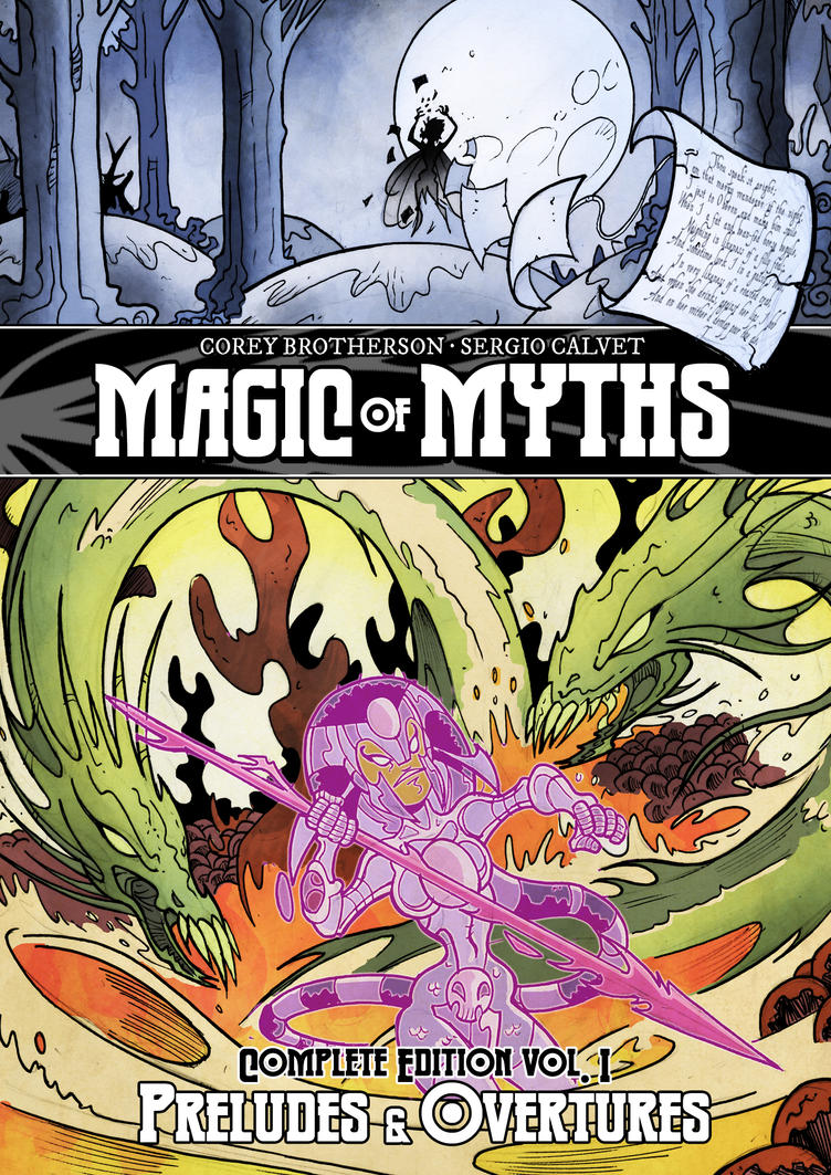 Magic of Myths Omnibus cover by sergicr