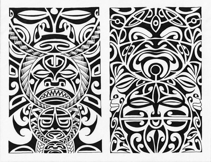 moko panels by davehortontattoos on deviantart. Black Bedroom Furniture Sets. Home Design Ideas
