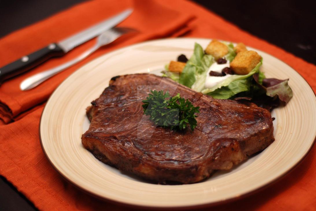 Big Steak :D by raymondtan85