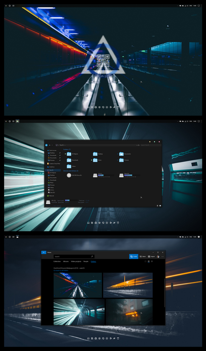 2018 August Desktop by DanFox