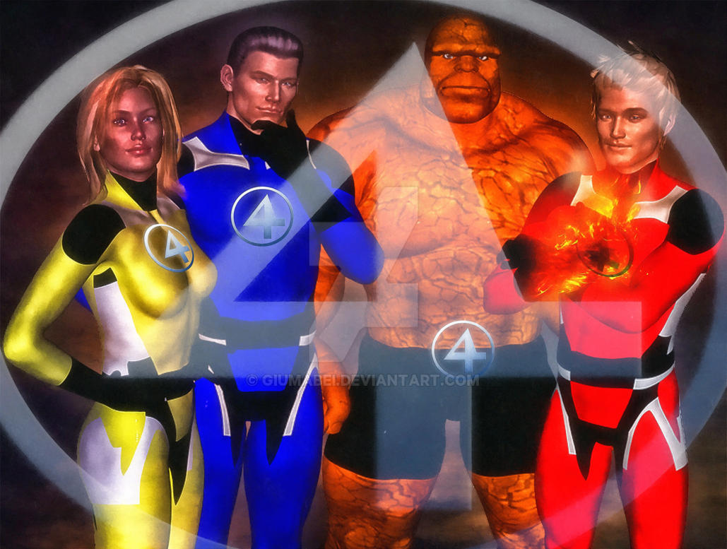 Fantastic 4 by giumabei