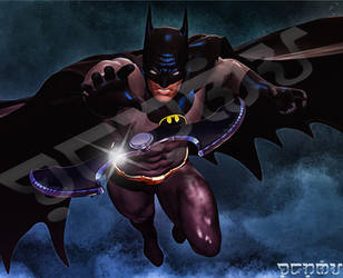 Batman In Your Face by giumabei