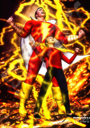 Seven Thunders Utter their Voices SHAZAM by giumabei